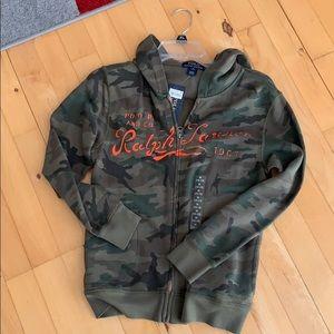Boys zip up jacket